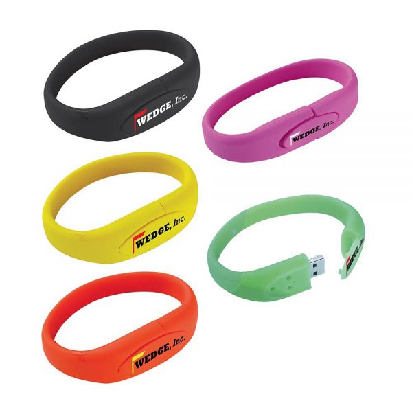 Bracelet USB 2.0 Flash Drive - 2GB