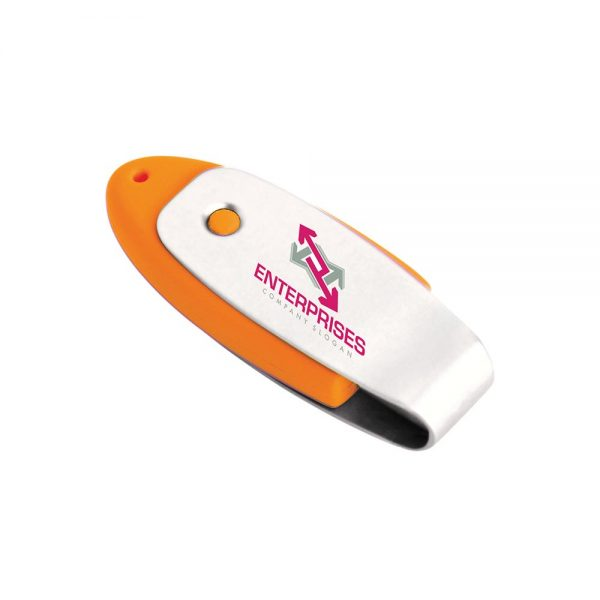 Oval USB 2.0 Flash Drive - 8GB