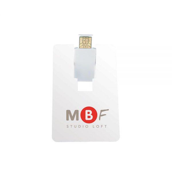Flip Card USB 2.0 Flash Drive - 8GB
