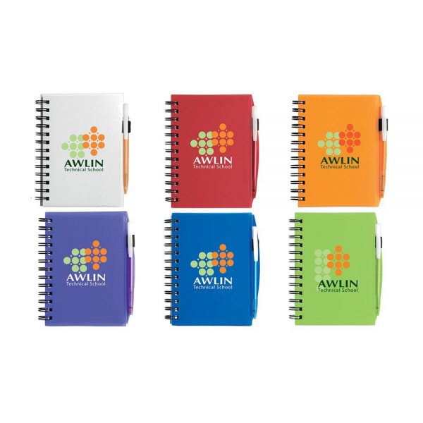 BIC© Plastic Cover Notebook - Small