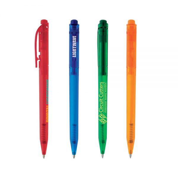 Push Clip Pen